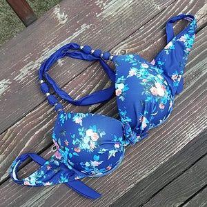 EONAR Floral  Push Up Bikini Top- XXL